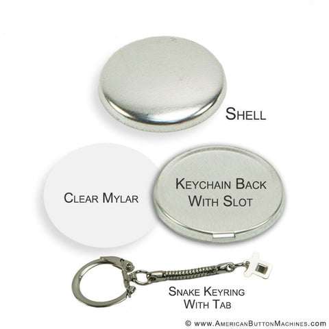 "1.5"" Snake Key Ring Sets"