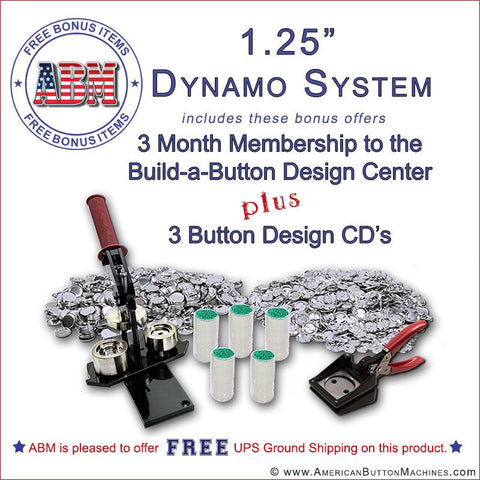 "1.25"" Dynamo Button Kit"