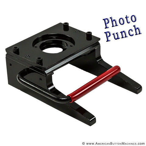 "2"" Photo Punch - American Button Machines"