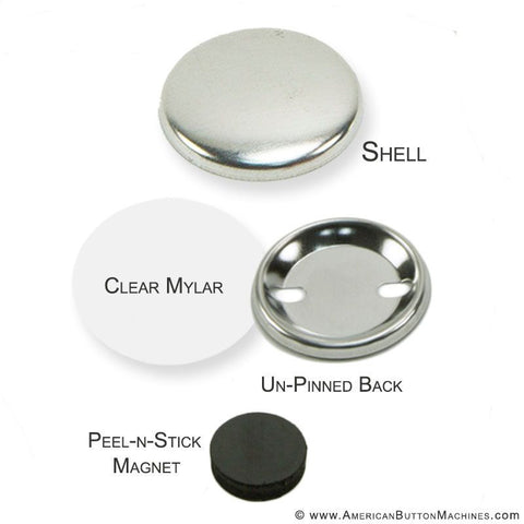 "1.25"" Self-Adhesive Magnet Set"