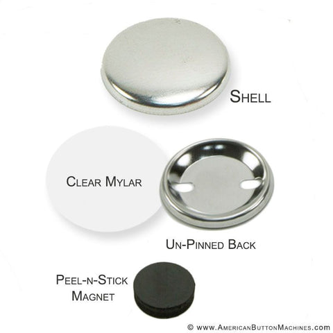 "1.5"" Self-Adhesive Magnet Set"