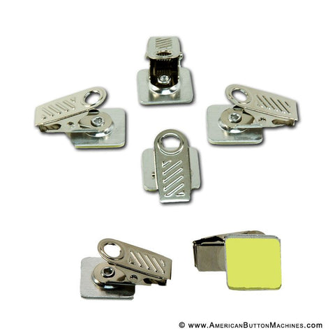 Adhesive Backed Bulldog Clips