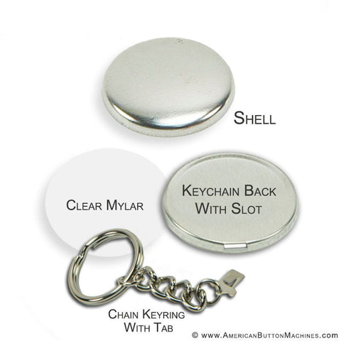 "1.5"" Chain Key Ring"