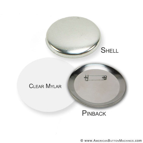 "3.5"" Pinback Button Set - American Button Machines"