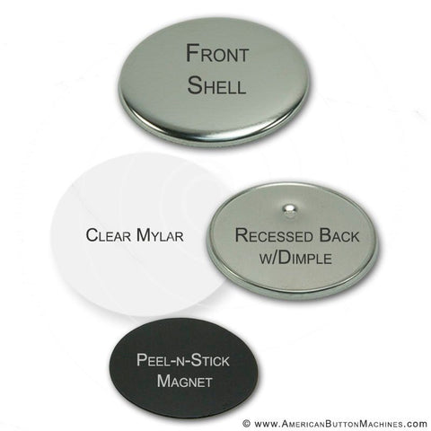 "2.25"" Self-Adhesive Magnet Set"