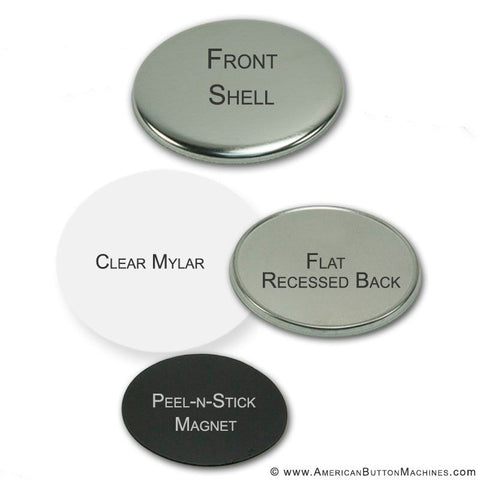 3'' Self-Adhesive Magnet Set