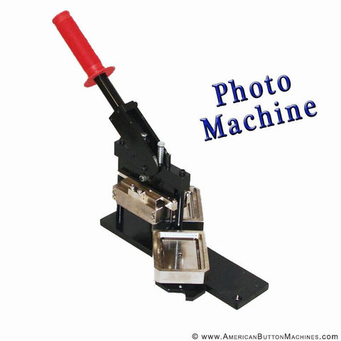 "Rectangle 2""x3"" PHOTO Button Maker - American Button Machines"