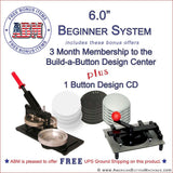 "6"" Beginner Button Kit"