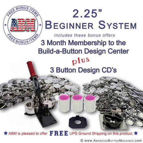 "2.25"" Beginner Button Kit"