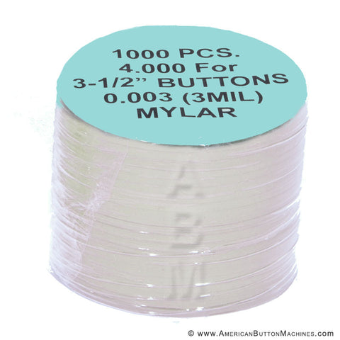 "3.5"" Mylar - American Button Machines"