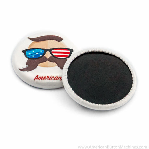 "1"" Round Medallion Button Set - American Button Machines"