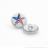 "1"" Round Ponytail Set - American Button Machines"