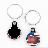 "1"" Versa-Back Split Keyring Set - American Button Machines"