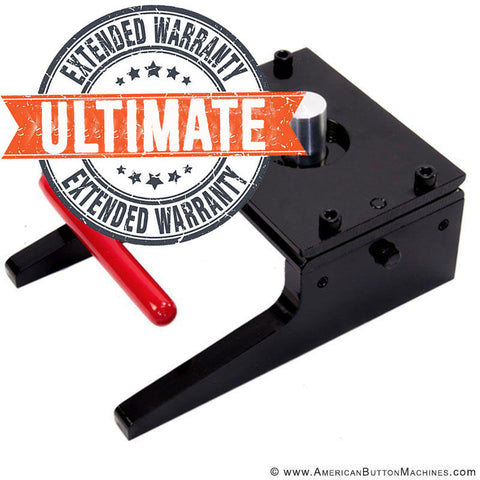 Ultimate Extended Warranty - Punch Cutters | Small - American Button Machines