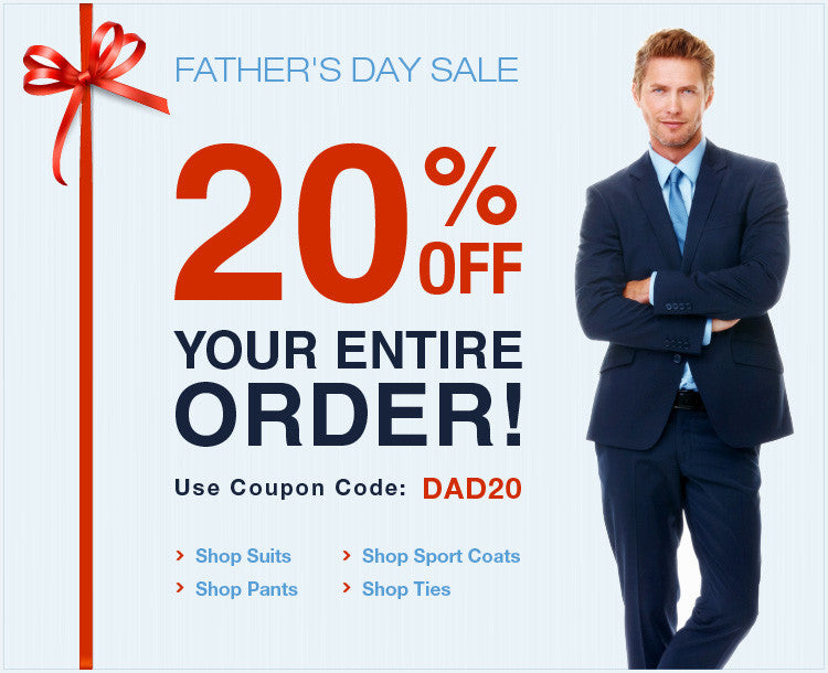 20% OFF - Happy Father's Day (Use Code DAD20)
