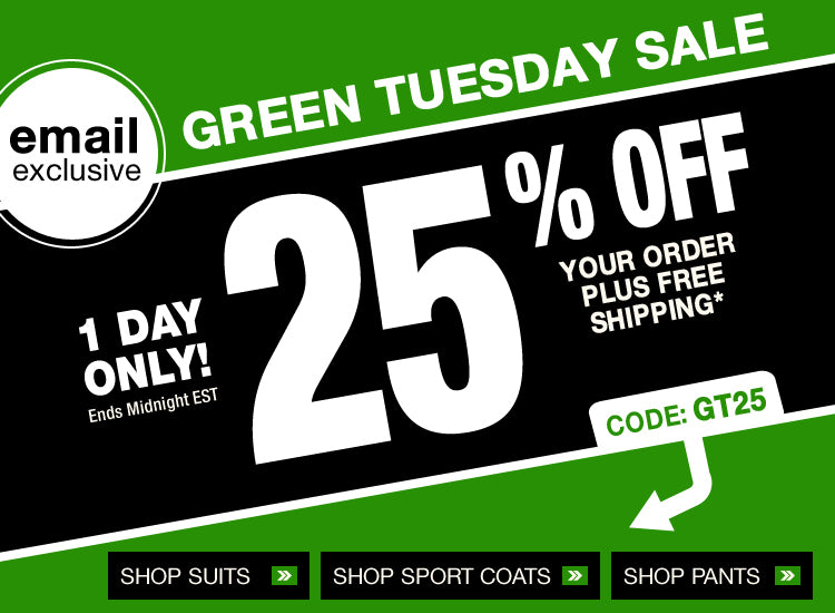 Green Tuesday Sale
