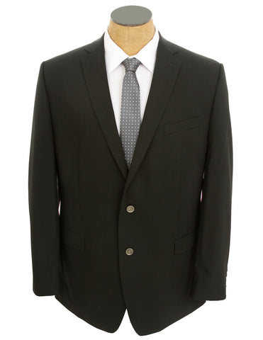 Calvin Klein Mens Black Extreme Slim Fit Wool Blend Sport Coat Jacket