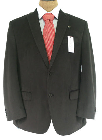 Calvin Klein Mens Solid Black Classic Fit Sport Coat Jacket