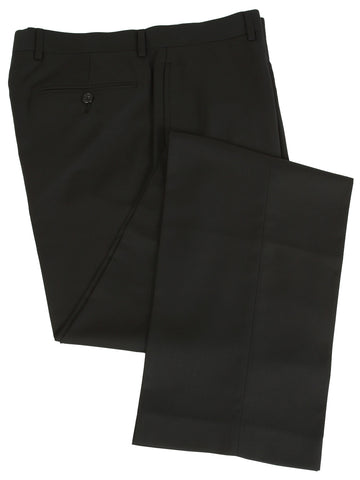 Mens Calvin Klein Flat Front Solid Black Extreme Slim Fit Dress Pants 36 x30