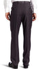 Mens Perry Ellis Black Solid Slim Fit Polyester Blend Dress Pants 32X30