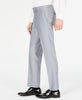 Mens Ryan Seacrest Silver Solid Slim Fit Tuxedo Prom Dress Pants 30X30