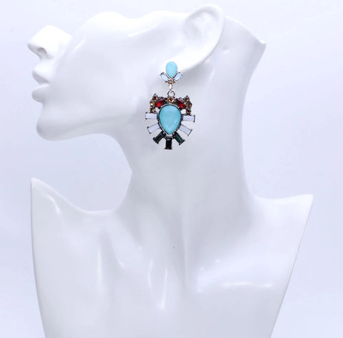 Statement Earrings- Ready To Ship - Katy's Princess Boutique