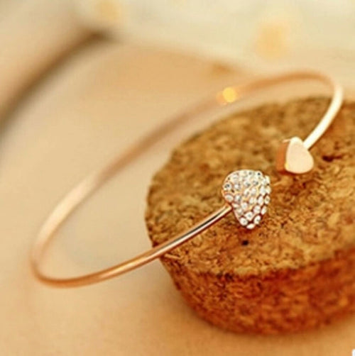 Heart Bangle - Katy's Princess Boutique