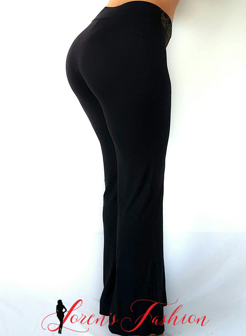 Soft Pants - Black - Katy's Princess Boutique