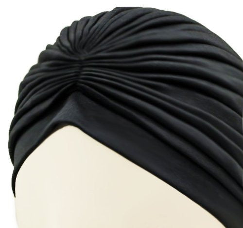 Black Turban - Katy's Princess Boutique