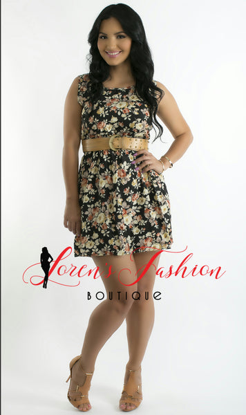 ELLY Dress- Black Dresses- Loren's Fashion Boutique