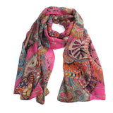 Rosy Scarf - 1 - Katy's Princess Boutique