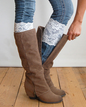 Lace Boot Cuff - Katy's Princess Boutique