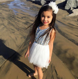 Princess Amilia Sequins Dress- Ready To Ship Available - Katy's Princess Boutique