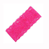 Lace Head Wrap- Pink - Katy's Princess Boutique