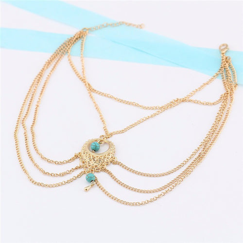 Anklet- Gold Jewelry- Loren's Fashion Boutique
