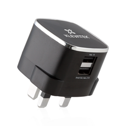 KLEVATEK UK Dual USB Smart Charger (CLEARANCE)