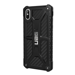 (UAG) Urban Armor Gear Apple iPhone XS Max Monarch Case - Black Carbon Fiber