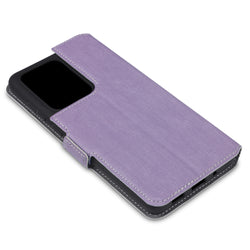 Qubits Samsung Galaxy S20 Ultra Low Profile PU Leather Wallet Case - Purple