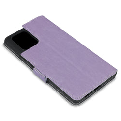 Qubits Samsung Galaxy A91 / S10 Lite Low Profile PU Leather Wallet Case - Purple