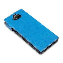 Qubits Sony Xperia 10 Low Profile PU Leather  Wallet Case - Blue
