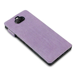 Qubits Sony Xperia 10 Plus Low Profile PU Leather  Wallet Case - Purple