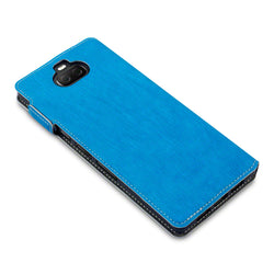 Qubits Sony Xperia 10 Plus Low Profile PU Leather  Wallet Case - Blue