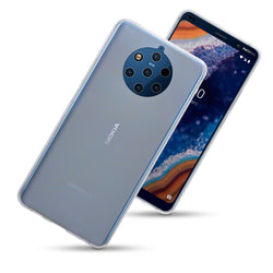 Qubits Nokia 9 PureView TPU Gel Case - Clear (CLEARANCE)