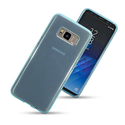 Qubits Samsung Galaxy S8 TPU Gel Case - Blue