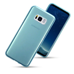 Qubits Samsung Galaxy S8 Plus TPU Gel Case - Blue (CLEARANCE)