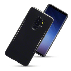 Qubits Samsung Galaxy S9 Plus TPU Gel Case - Smoke Black