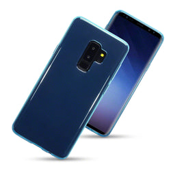 Qubits Samsung Galaxy S9 Plus TPU Gel Case - Blue
