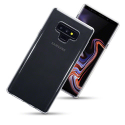 Qubits Samsung Galaxy Note 9 TPU Gel Case - Clear