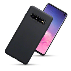 Qubits Samsung Galaxy S10 TPU Gel Case - Black Matte