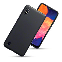 Qubits Samsung Galaxy A10 TPU Gel Skin Case - Black Matte